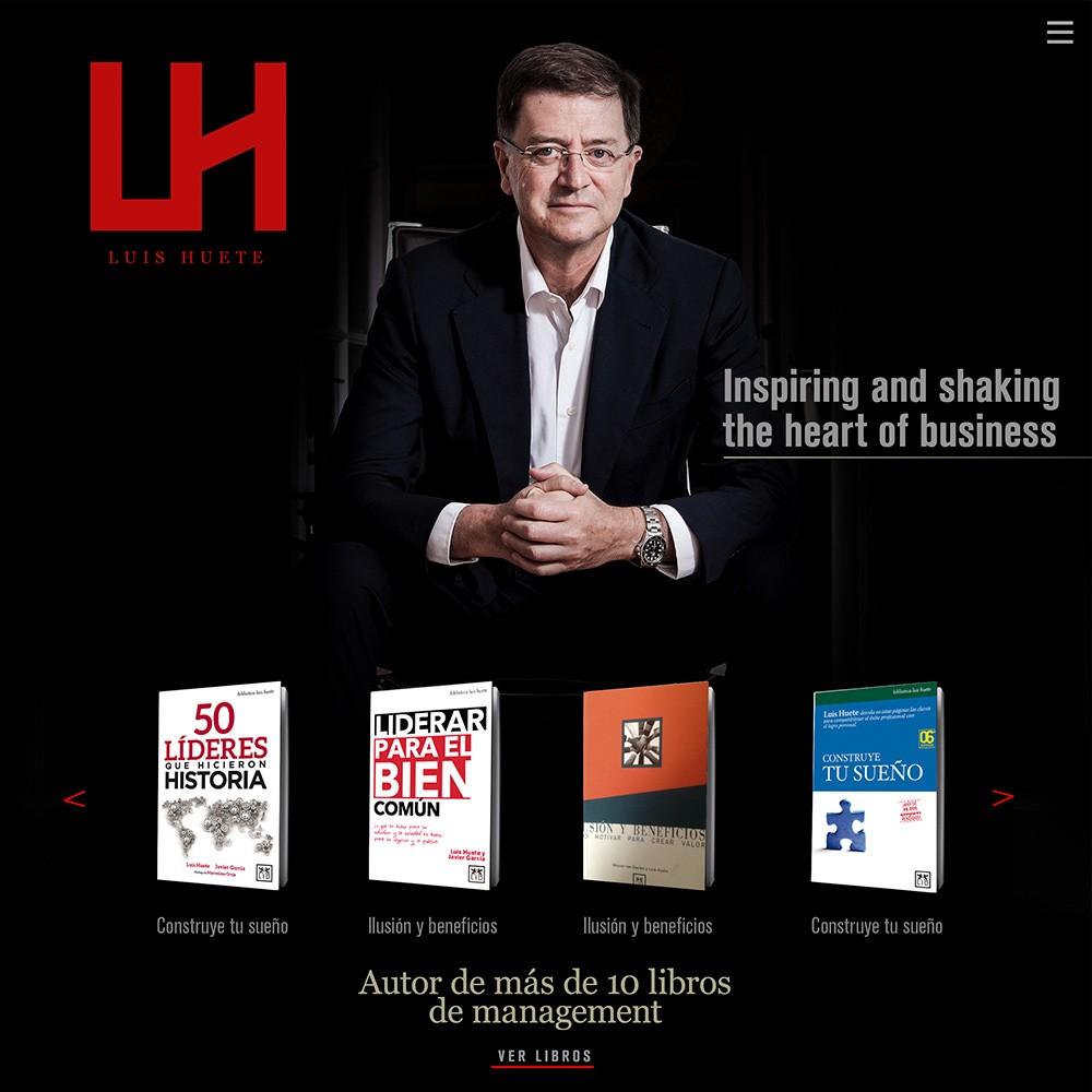 Marca y web de Luis Huete