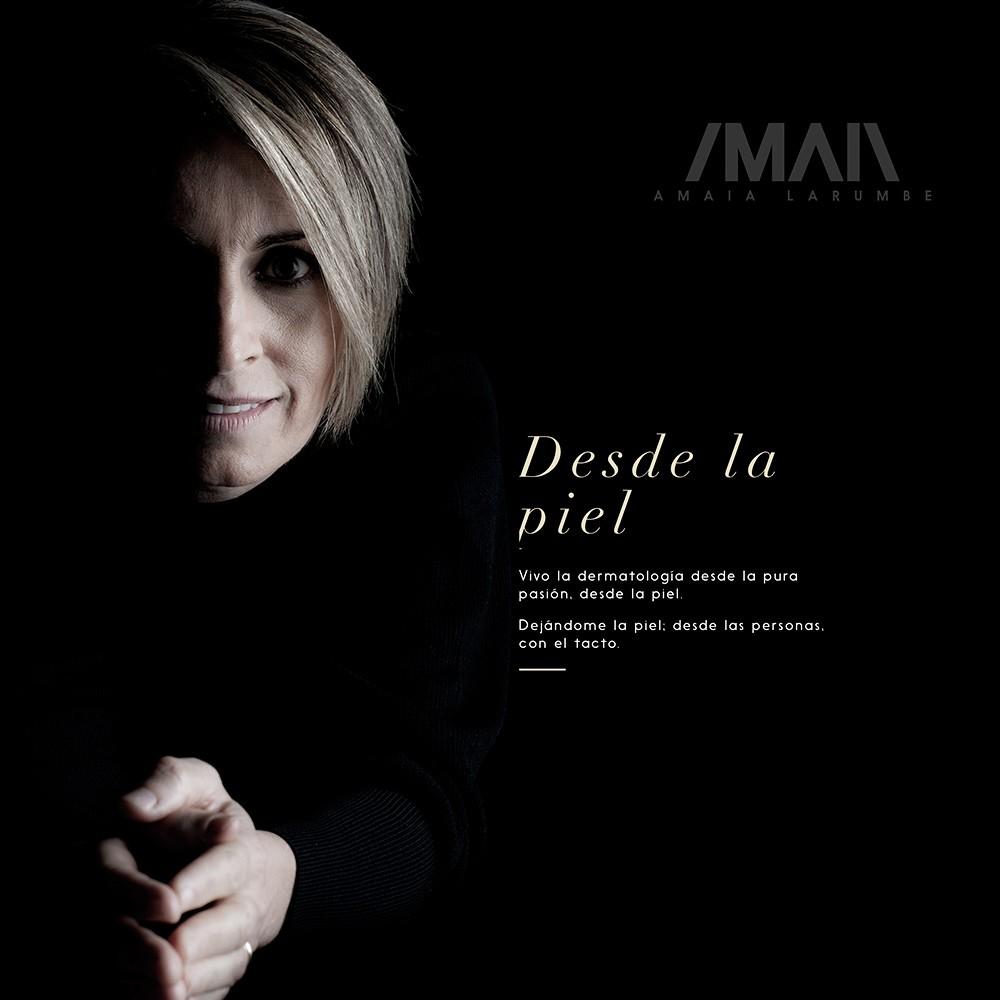 Marca y web de Amaia Larumbe