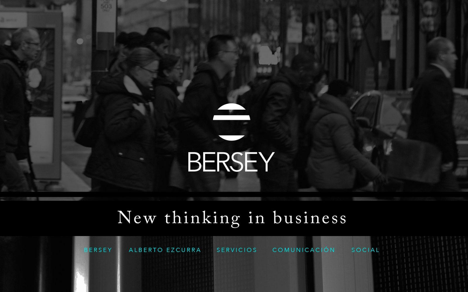 Marca y web para Bersey Consulting