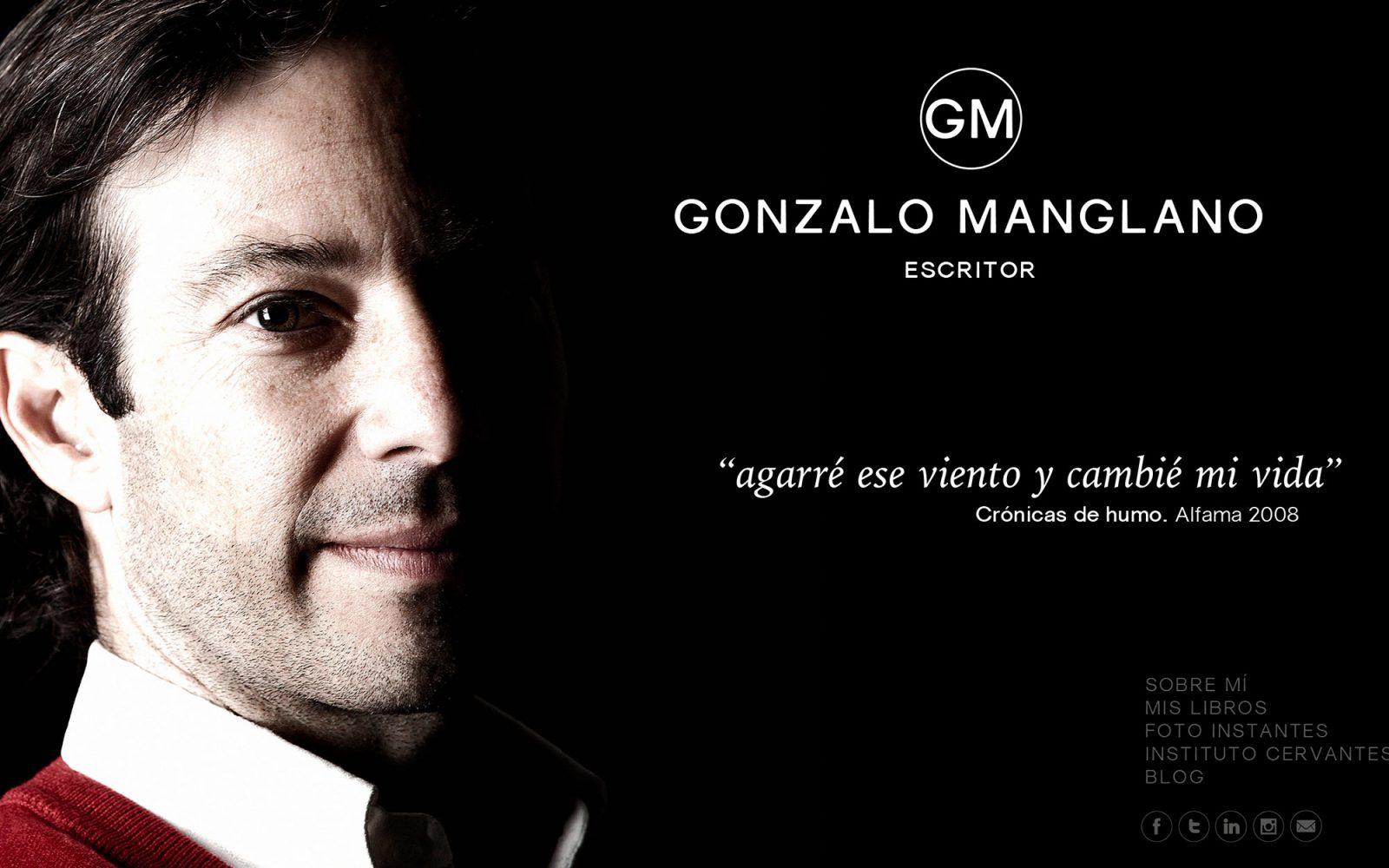 Marca y Web de Gonzalo Manglano