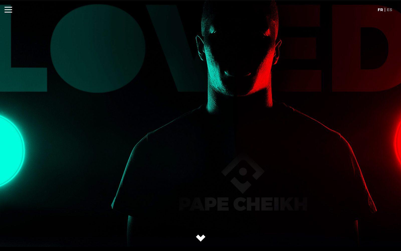 Marca y web para Pape Cheik