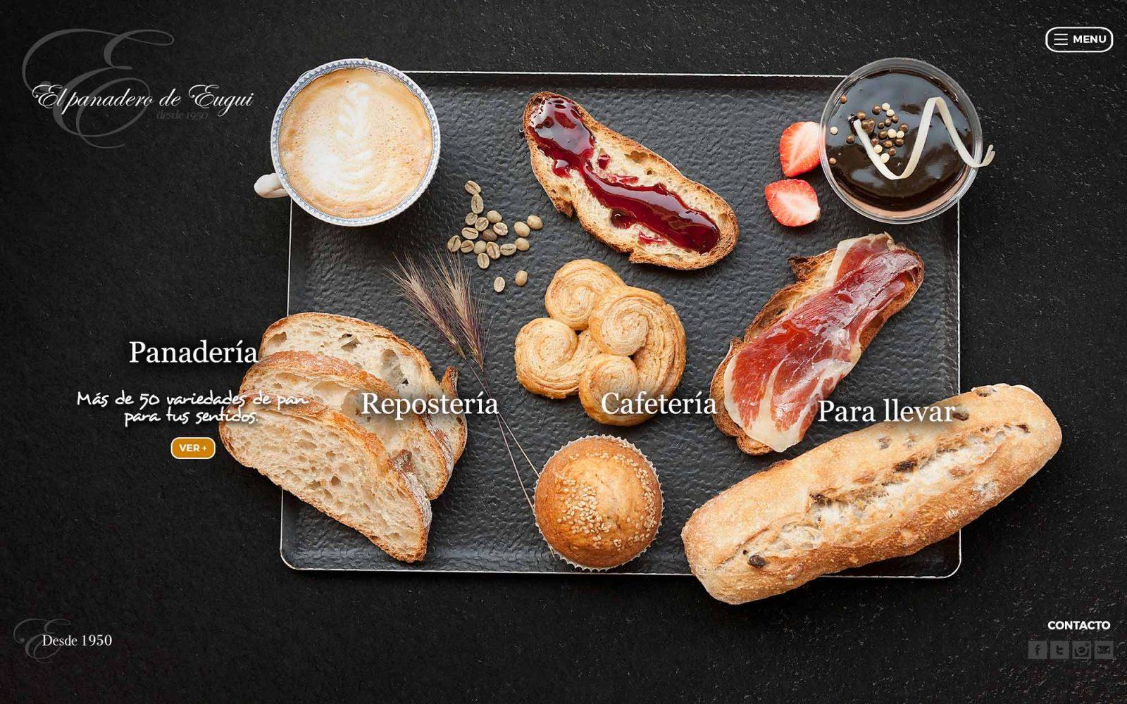 Marca y Web para Panadero de Eugui
