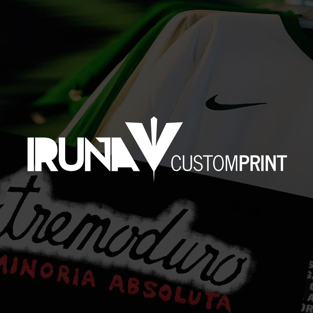 Marca y web de Iruña Custom Print