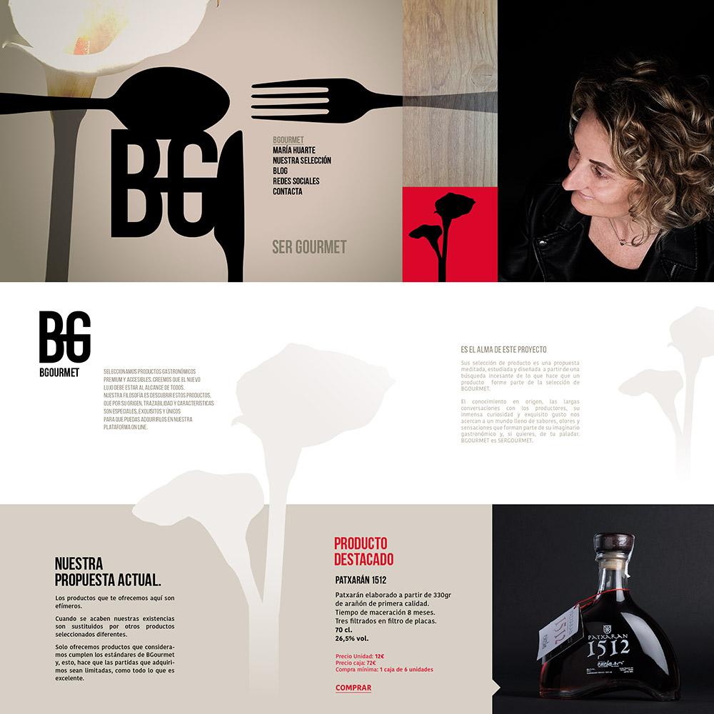 Marca y tienda online para BGourmet
