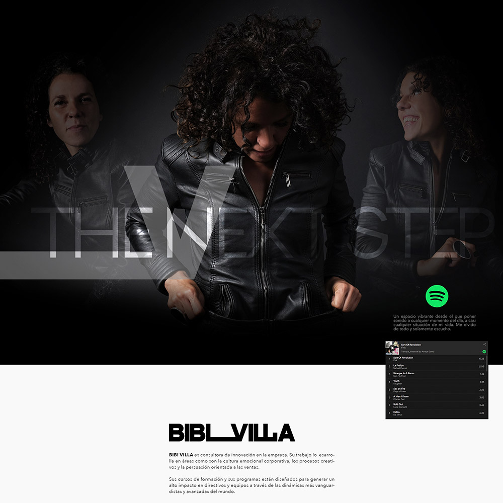 Marca personal y web para Bibi Villa